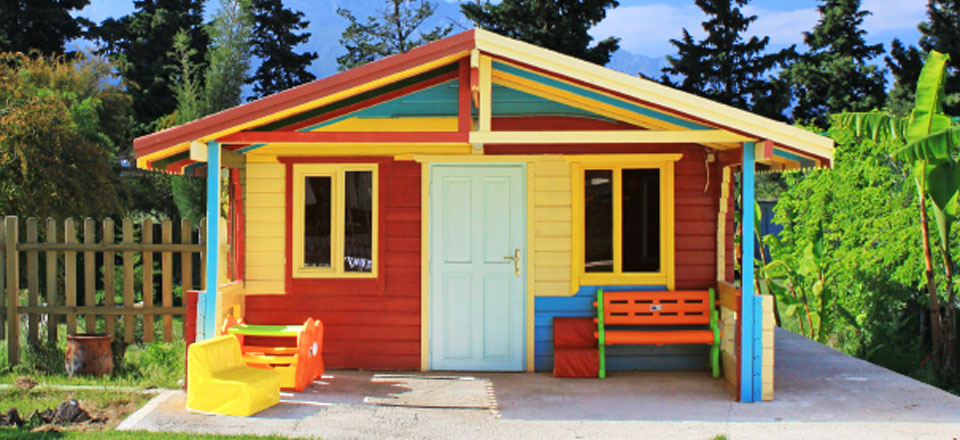 Playhouses Poolhouses Sheds Decks And More In